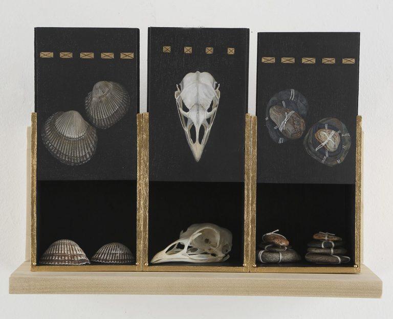 9 Three Box Reliquary